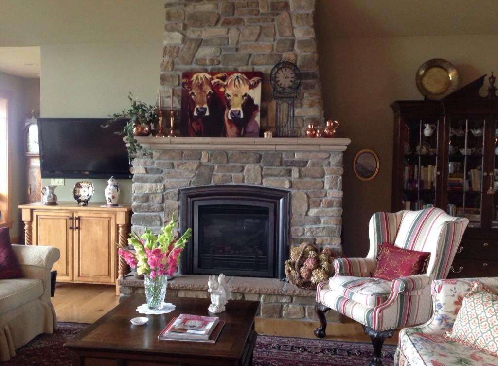 Fireplace installed for customer. Lynden, Bellingham, Blaine, Birch Bay, Custer, Everson, Sumas, Nooksack