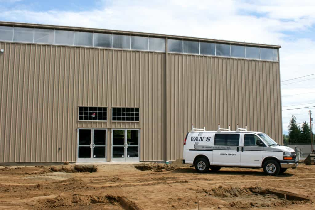 Commercial Job Site. Upload Your Plan for a free estimate.